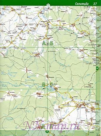 Подробная Карта Балахнинского Района